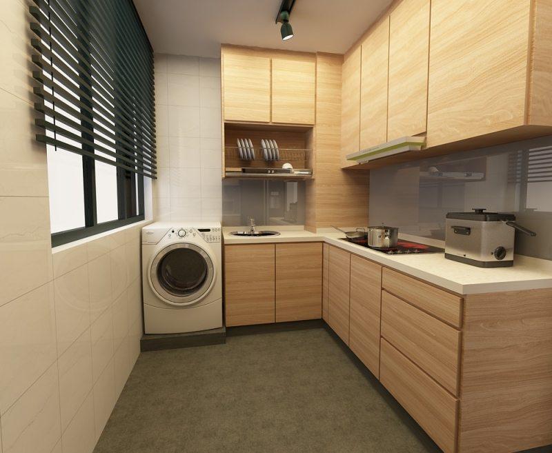 3D Interior Design Kitchen Cabinet 5